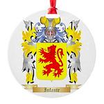 Infante Round Ornament