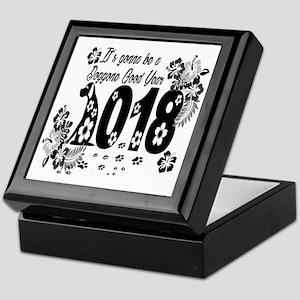 2018 Dog Year Humor Keepsake Box
