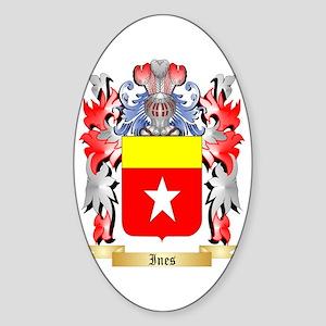 Ines Sticker (Oval)
