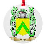 Indge Round Ornament