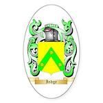 Indge Sticker (Oval 50 pk)