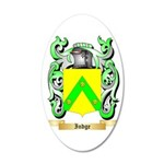 Indge 35x21 Oval Wall Decal