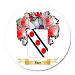 Ince Round Car Magnet