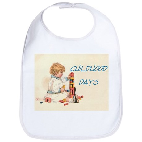 Childhood Days Bib