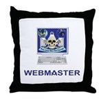Masonic Webmaster. Spreading the word. Throw Pillo