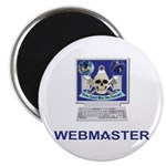 Masonic Webmaster. Spreading the word. Magnet