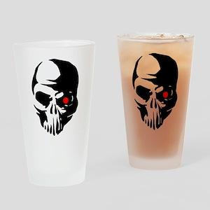 Cyborg Terminator Cyber Robot Tech Drinking Glass