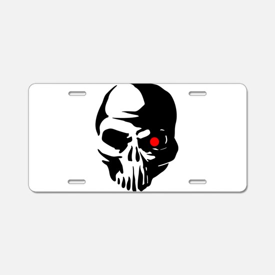 Cyborg Terminator Cyber Rob Aluminum License Plate