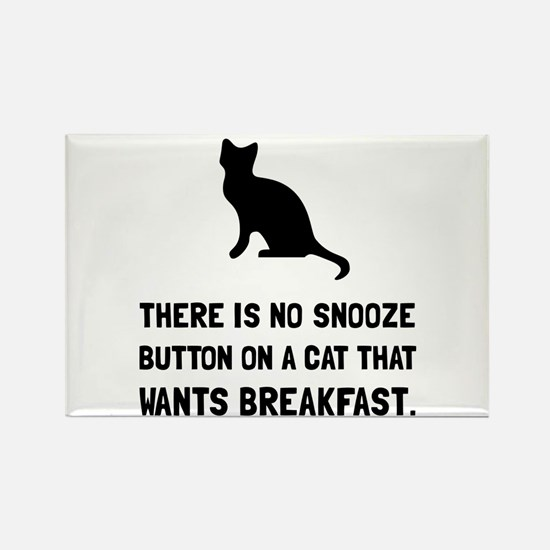Snooze Button Cat Magnets