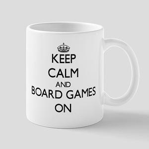 Keep calm and Board Games ON Mugs