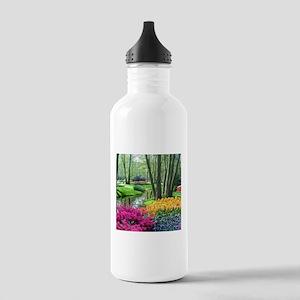beautiful garden 2 Stainless Water Bottle 1.0L
