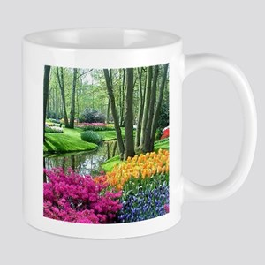 beautiful garden 2 Mugs