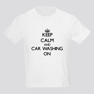 Keep calm and Car Washing ON T-Shirt