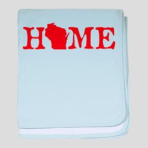 HOME - Wisconsin baby blanket