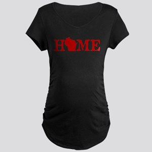 HOME - Wisconsin Maternity T-Shirt