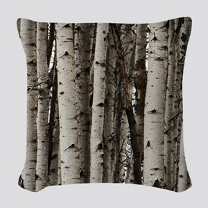 Woods of Glenwood Woven Throw Pillow