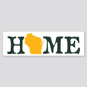 HOME - Wisconsin Bumper Sticker