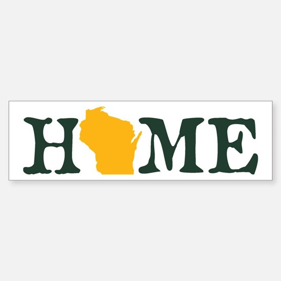 HOME - Wisconsin Bumper Bumper Bumper Sticker