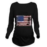 Brave Dying Long Sleeve Maternity T-Shirt