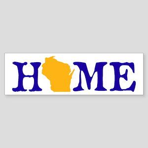HOME - Wisconsin Bumper Sticker