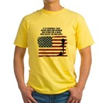 Brave Dying Yellow 2-Sided T T-Shirt