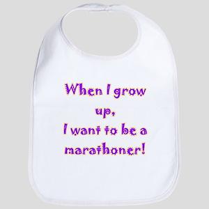 I want to be a marathoner Bib
