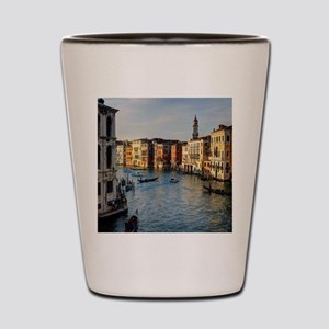 Venice Italy canal Shot Glass
