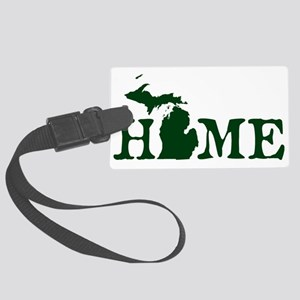 HOME - Michigan Large Luggage Tag