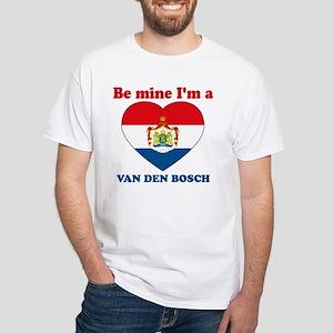Van Den Bosch, Valentine's Da White T-Shirt