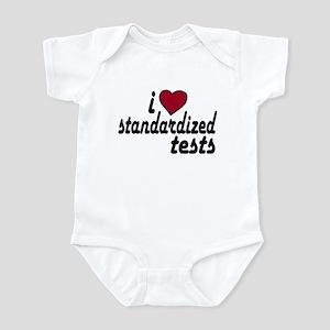 I Love Standardized Tests Infant Bodysuit