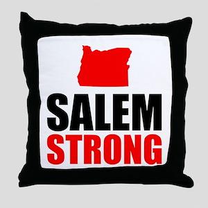 Salem Strong Throw Pillow