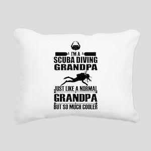 ScubaGrandpaK Rectangular Canvas Pillow