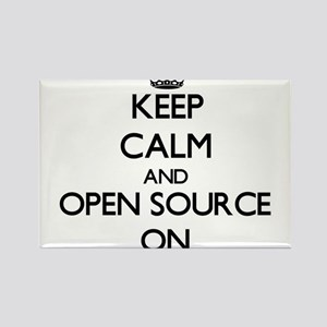 Keep calm and Open Source ON Magnets