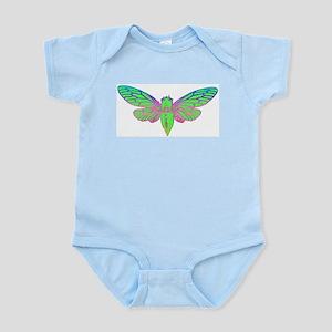 Psychedelic Cicada Body Suit