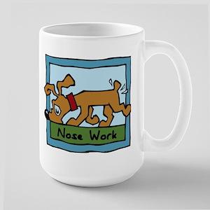 Nose Work Puppy Sniffing Mugs