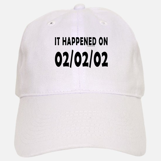 02/02/02 Baseball Baseball Cap