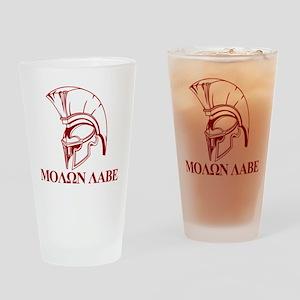 Spartan Greek Molon Labe Come and Take it Drinking