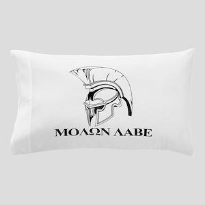 Spartan Greek Molon Labe Come and Take it Pillow C