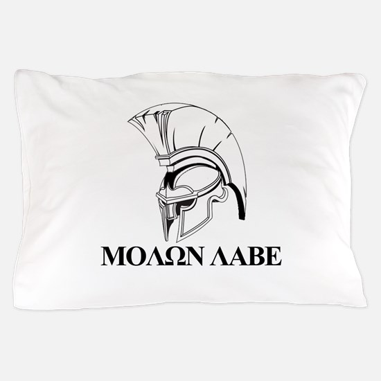 Spartan Greek Molon Labe Come and Take it Pillow C
