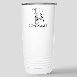 Spartan Greek Molon Labe Come and Take it Travel M