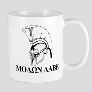 Spartan Greek Molon Labe Come and Take it Mugs