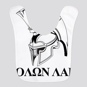 Spartan Greek Molon Labe Come and Take it Bib