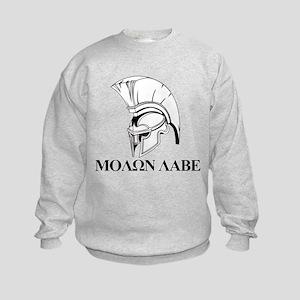 Spartan Greek Molon Labe Come and Take it Sweatshi