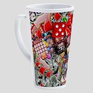 Las Vegas Icons - Gamblers Delight 17 oz Latte Mug