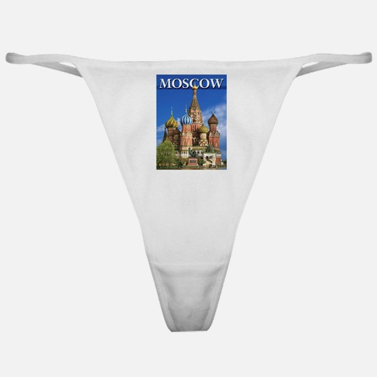 Moscow Kremlin Saint Basil's Cathedr Classic Thong