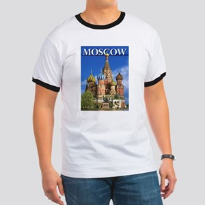 Moscow Kremlin Saint Basil's Cathedral Red T-Shirt