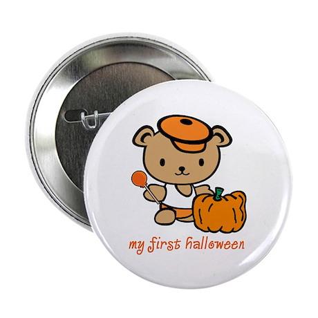 """My First Halloween (Boy) 2.25"""" Button (10 pack)"""