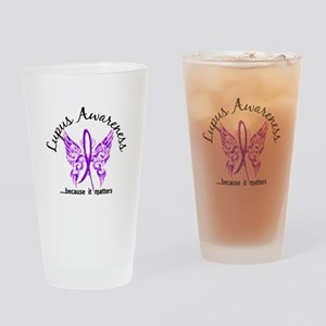 Lupus Butterfly 6.1 Drinking Glass