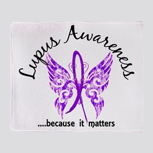 Lupus Butterfly 6.1 Throw Blanket