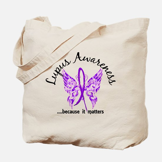 Lupus Butterfly 6.1 Tote Bag